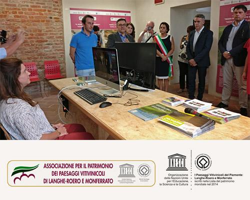 inaugurazione sito unesco - langhe - coperniko
