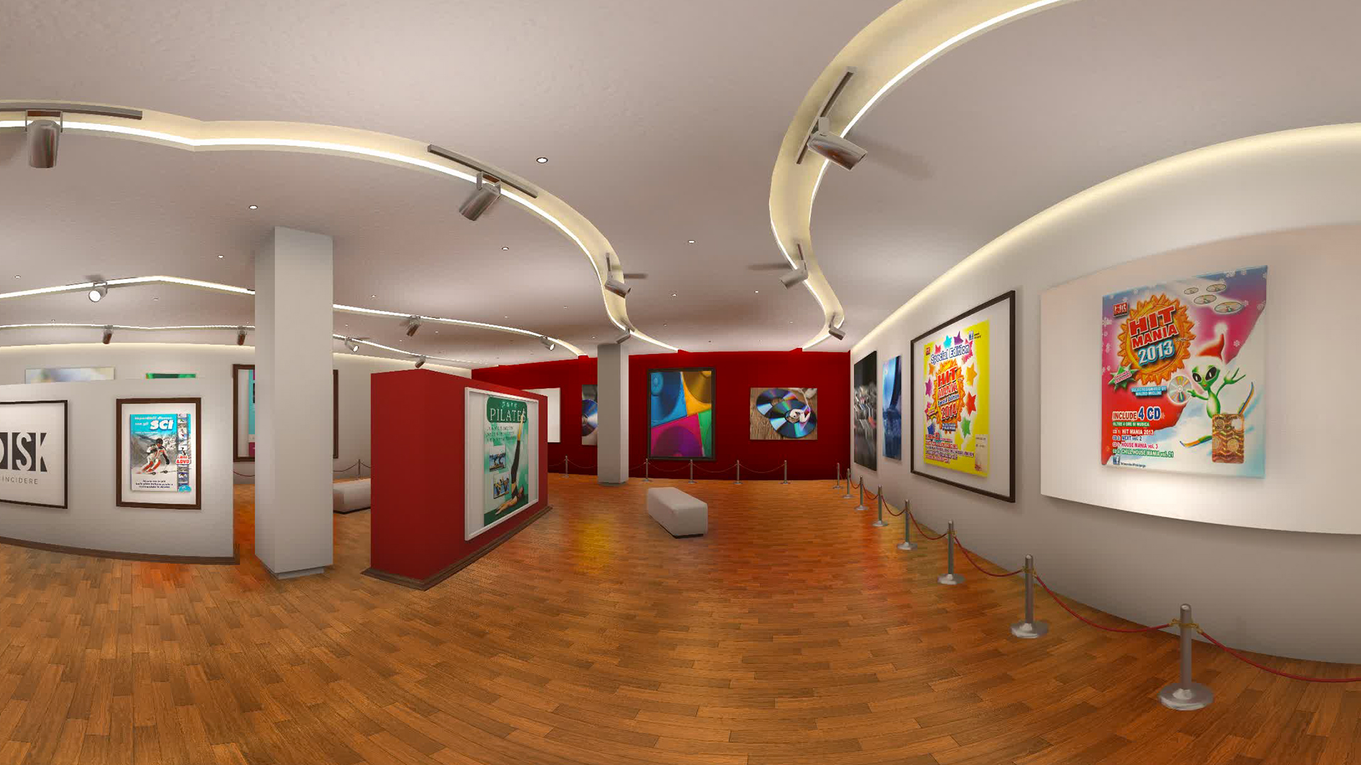 virtual tour video 360 ambiente museo con coperniko