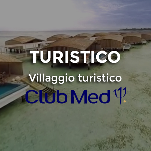 video 360 in villaggio turistico maldive - club med