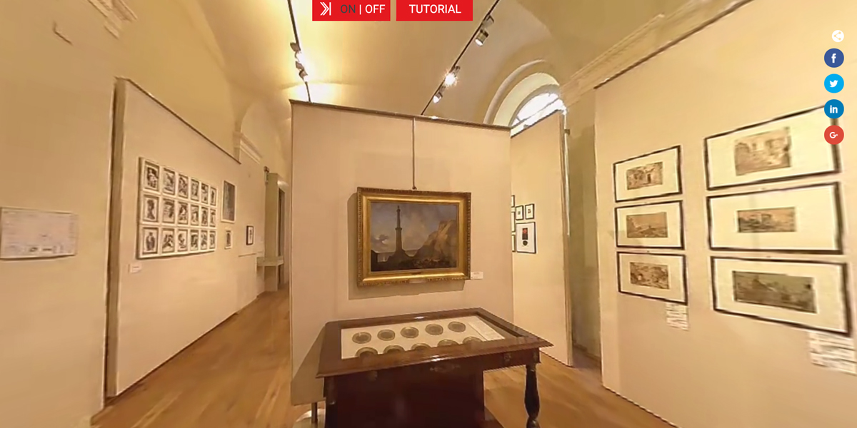 virtual tour pinacoteca museo alessandria - coperniko