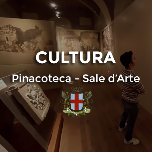 virtual tour pinacoteca alessandria sale d'arte - video 360