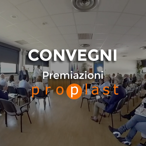 virtual tour premiazione proplast - video 360