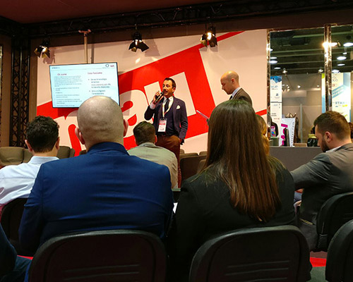 smau torino - speed pitching - at-media